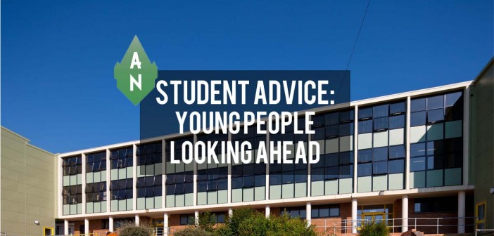 young people looking ahead