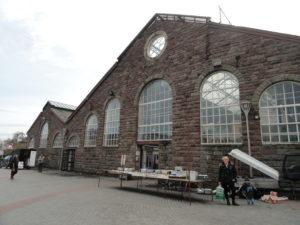Abergavenny Market Hall Exterior