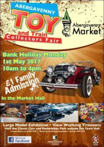 Abergavenny Toy and Train Collectors Fair 2017 @ Abergavenny Market Hall | Wales | United Kingdom