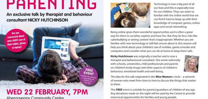 Digital-Parenting-Abergavenny-Community-Centre