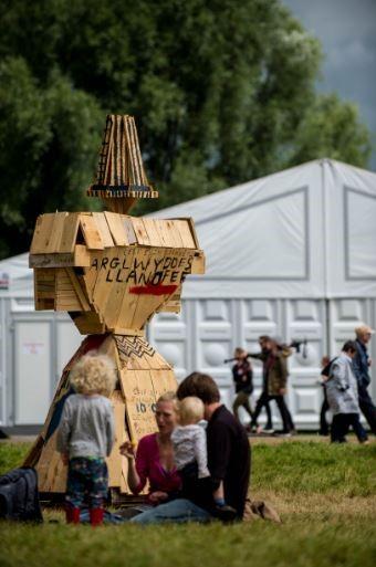 Eisteddfod Sculpture