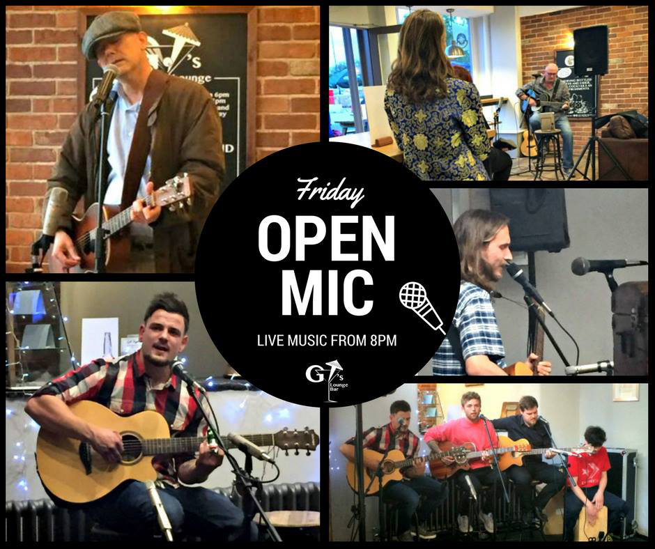 Get Together Open Mic
