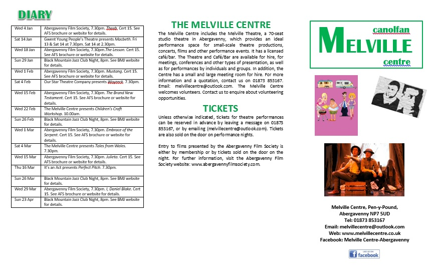 Melville Spring Events Page 2