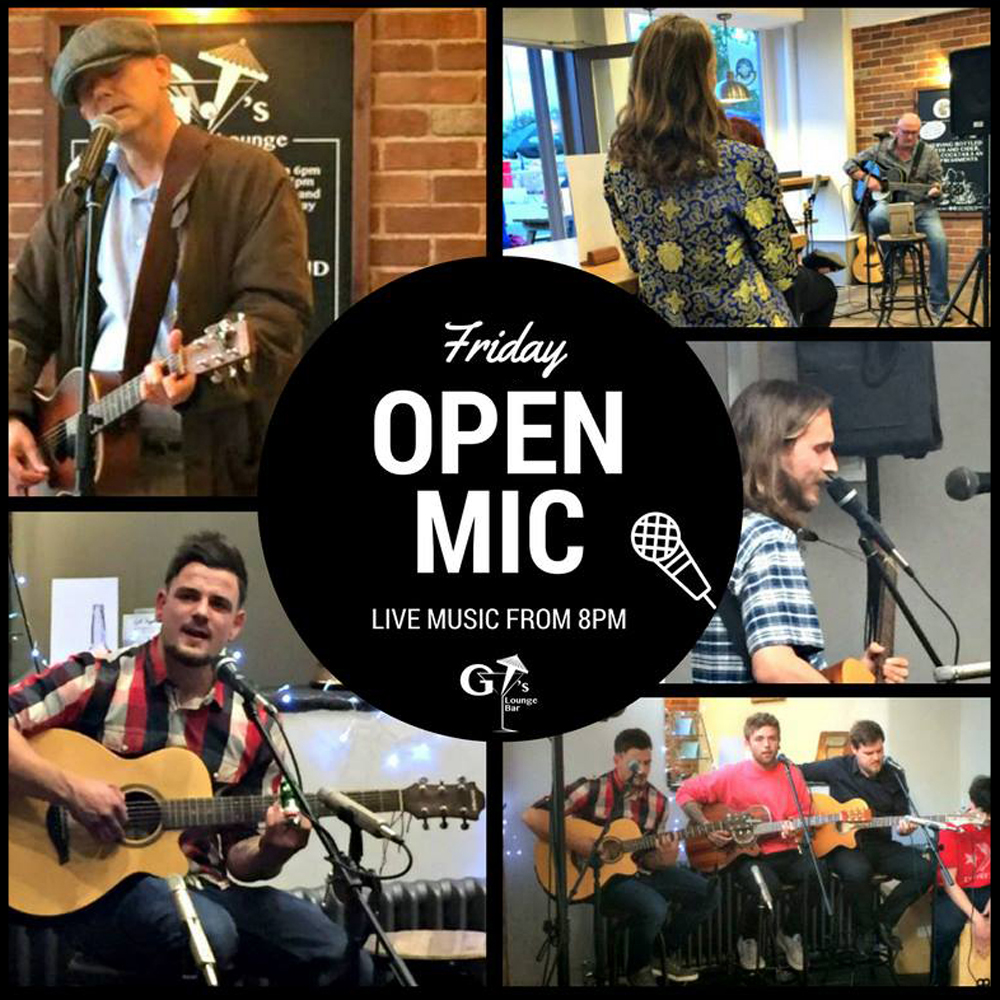 Open Mic Night Square