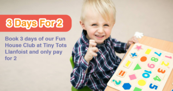 Tiny Tots - Easter Fun House Club - Advert 1
