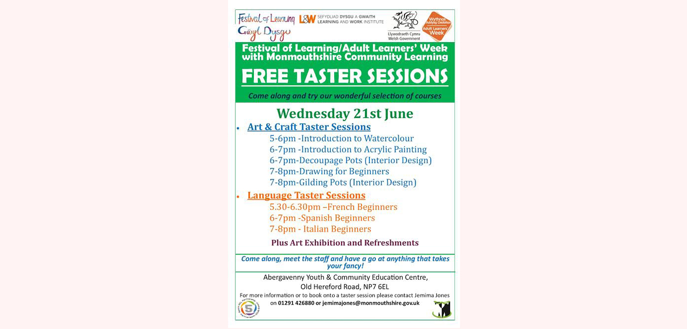 Adult Learners Week With Community Learning