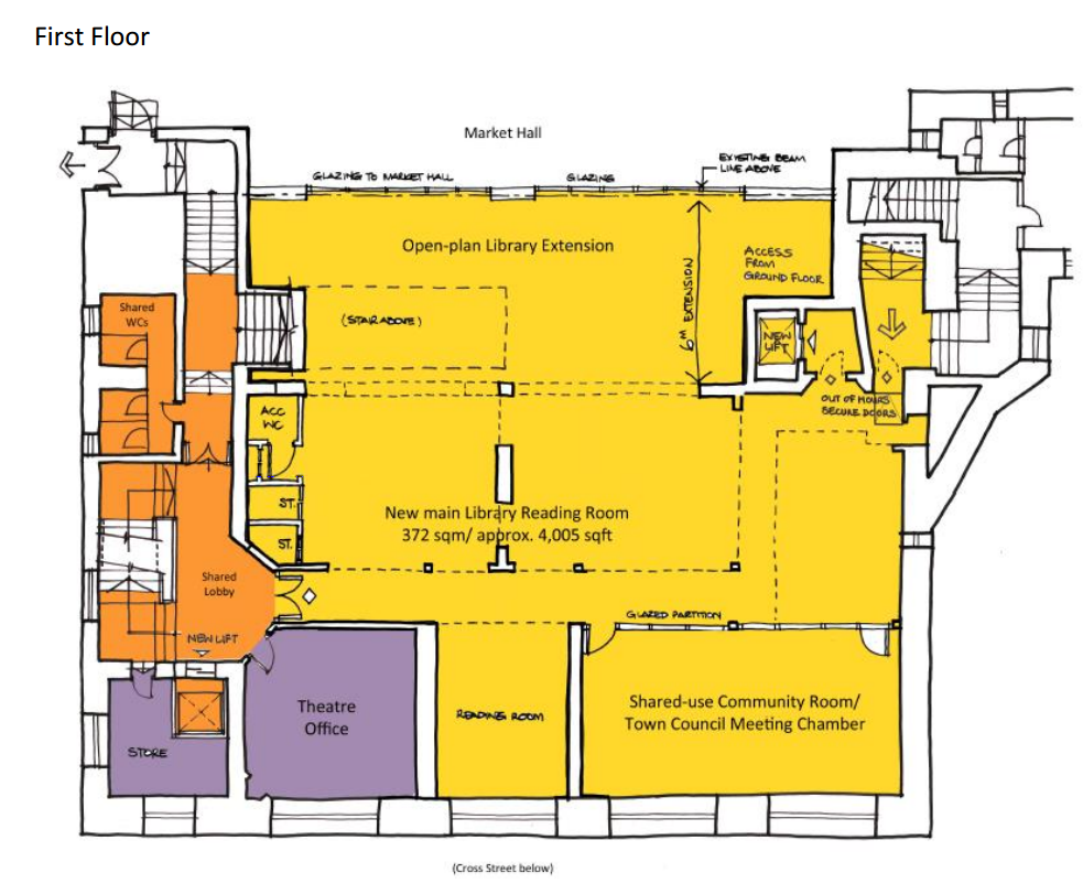 Hub First Floor Plan