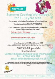 Abergavenny Summer Workshops image