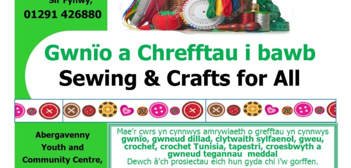 Aber- Sewing and Craft for All TUES