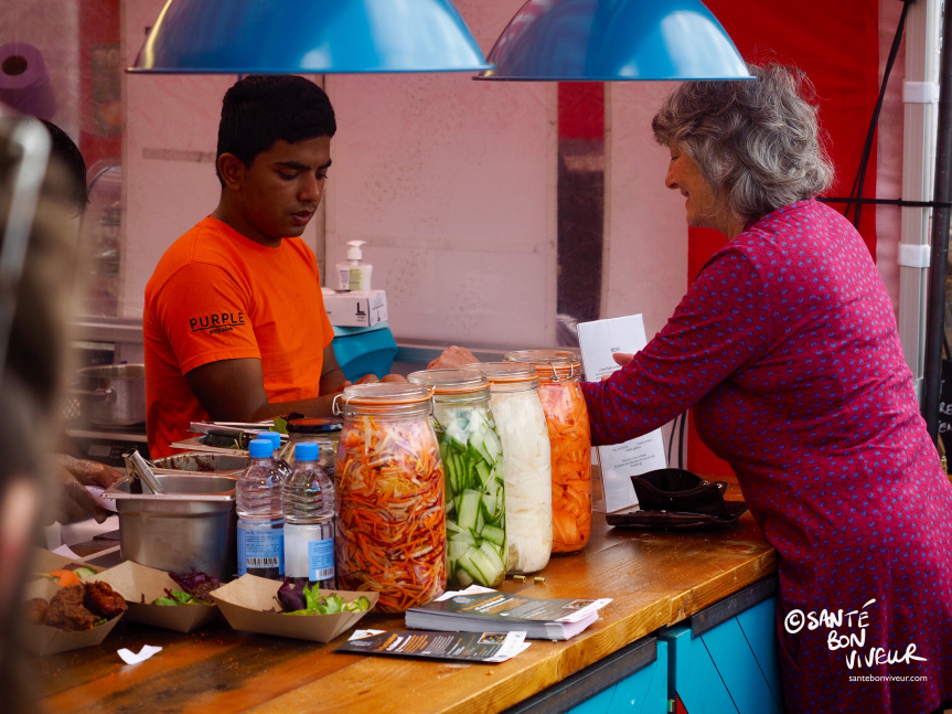 Indian street food from the Purple Poppadom, Cardiff