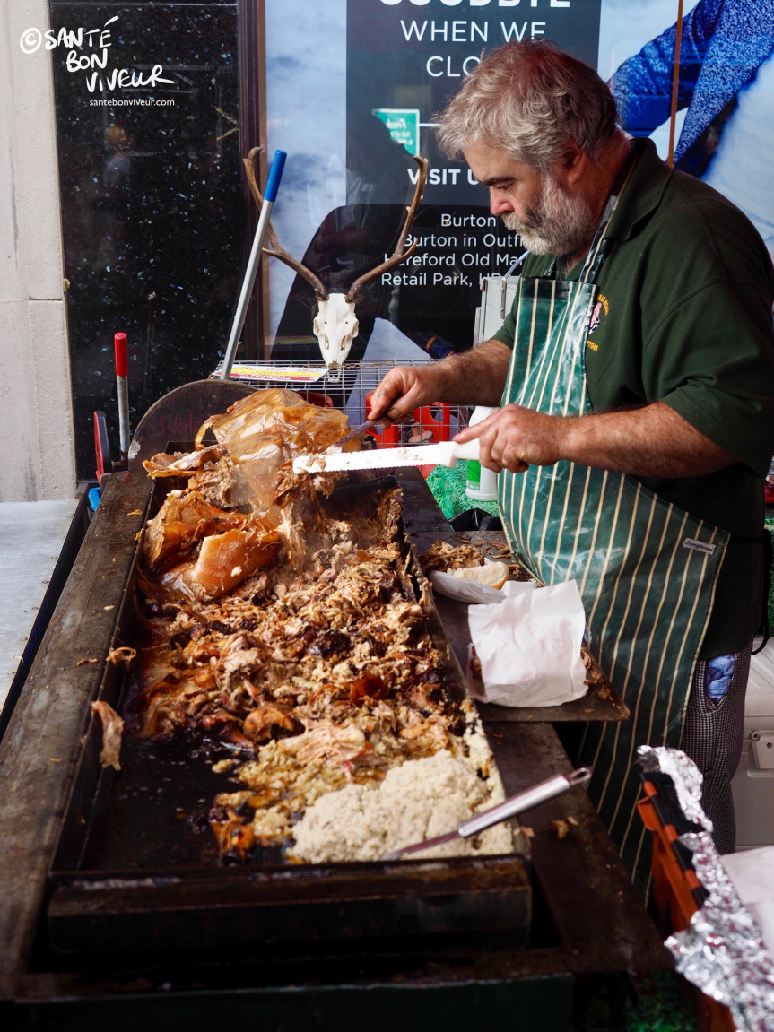 Hog Roast Buns on Cross Street