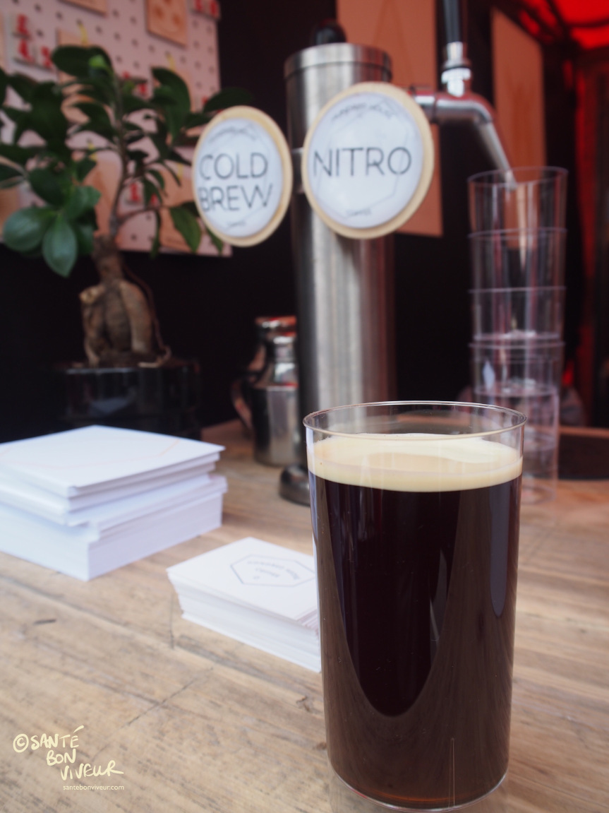No it's not a glass of Guinness, although it's as creamy as one – it's a delightful cold brew Hundred House Nitro coffee