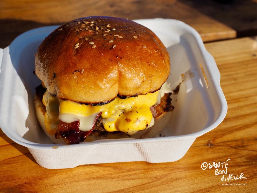 Hmmmmm – a Beefy Boys Burger!