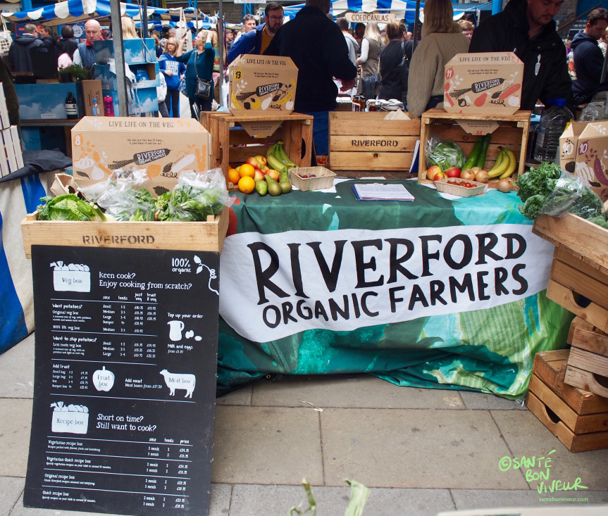 Riverford Organic Farm – one of the festival sponsors