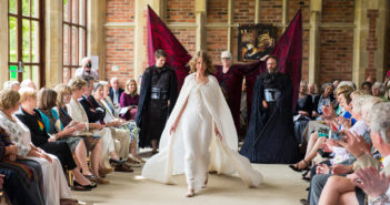 Can you help with the Abergavenny Arts Festival Artisan Fashion Show Fundraiser?