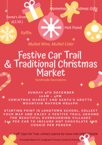 Festive (Car) Trail & Traditional Christmas Market @ Mountain Mayhem, Tybubach Farm, Craswall, HR2 0PH Hereford, Herefordshire | Craswall | England | United Kingdom