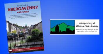 Abergavenny Civic Society Launch 'Take a Look at Abergavenny and Mardy' Book