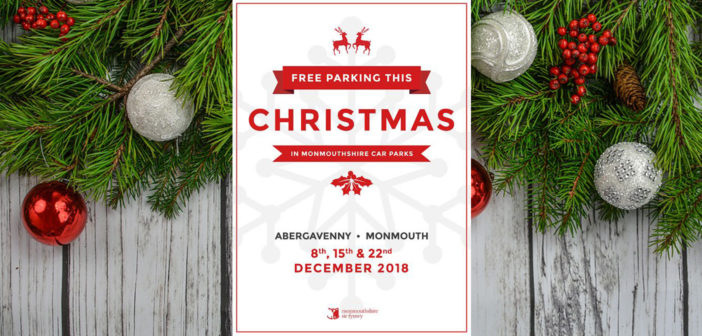 Council provides free Christmas parking boost for Abergavenny, Chepstow and Monmouth