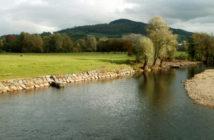 River Usk Abergavenny