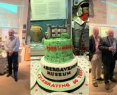 Past and present staff celebrate 60 years of Abergavenny Museum