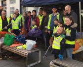 Keep Abergavenny Tidy community litter pick