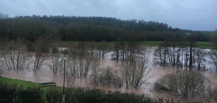 Storm Dennis Brings Unprecedented Water Levels to Monmouthshire
