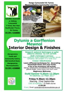 Interior Design and Finishes @ Abergavenny Youth & Community Education Centre, Old Hereford Road, NP7 6EL | Wales | United Kingdom